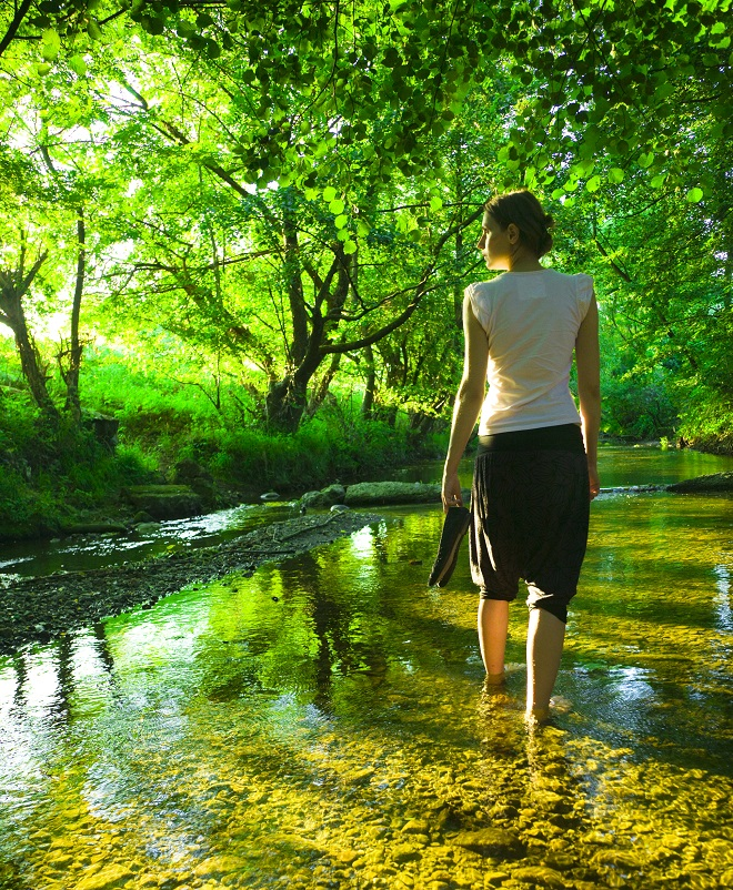 Undgå stress i naturen