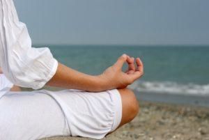 Kvinde med gode mindfulness vaner