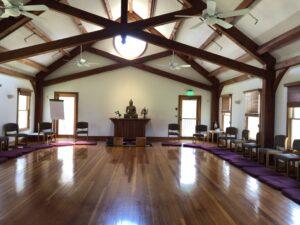 Meditationssal På Forest Refuge Retreat