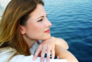 Kvinde etablere fast meditationspraksis