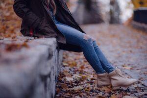Kvinde med motivation og vedholdenhed