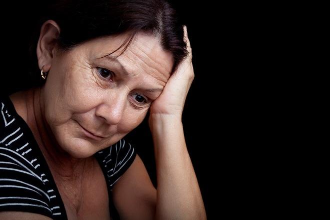 Kvinde Med Mange Bekymringer
